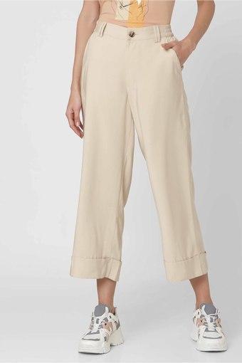 VERO MODA -  NaturalTrousers & Pants - Main