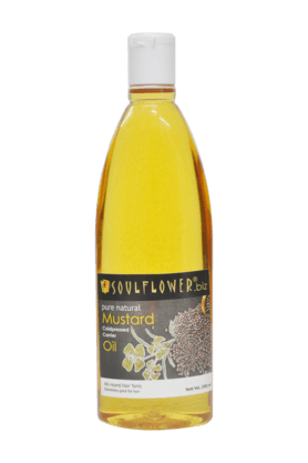 SOULFLOWER Mustard Carrier Oil