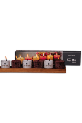DECO ARO Aromatic Frost Mist Candles