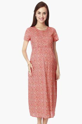 NINE MATERNITY Maternity Nursing Dress - 201716376