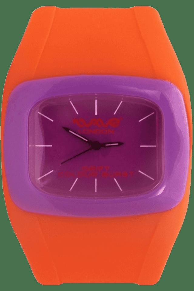Drift Colour Burst Range Orange & Purple Unisex Watch