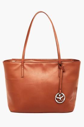 SATYA PAULWomens Zipper Closure Tote Handbag