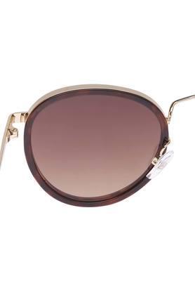 Womens Full Rim Round Sunglasses