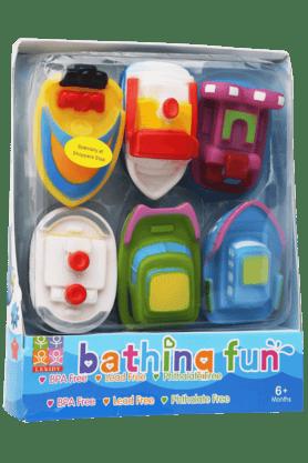 Stop Inflatable Toys - Unisex Plastic Multi Coloured Bathing Toys
