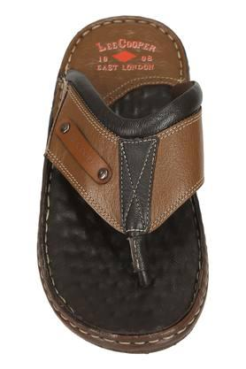 LEE COOPER - Tan Sandals & Floaters - 2