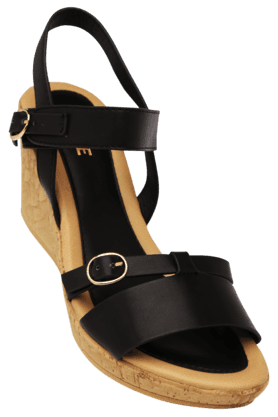 LAVIE Womens Casual Ankle Buckle Closure Wedge Sandal