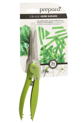 PREPARA 3 Blade Herb Shears And Stripper