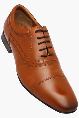 RUOSH Mens Leather Lace Up Oxford Shoes