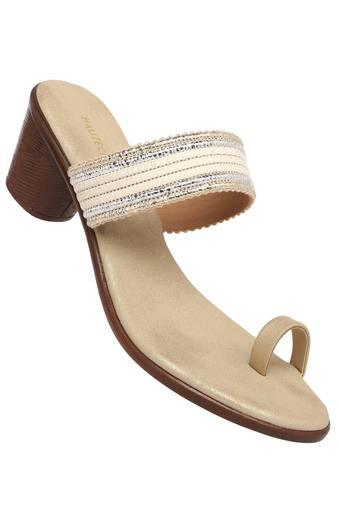 HAUTE CURRY -  Beige Heels - Main