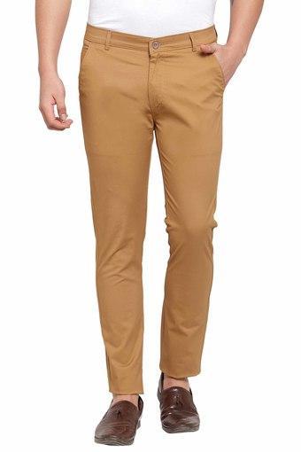 RODAMO -  BrownCasual Trousers - Main