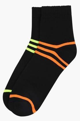 STOP Mens Striped Crew Socks - Pack Of 2