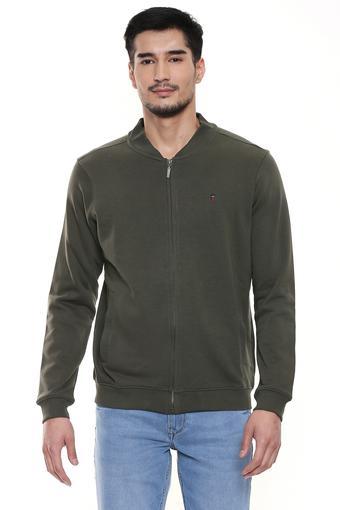 LOUIS PHILIPPE JEANS -  OliveSweatshirts - Main