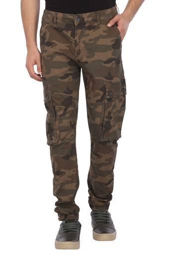 Mens 6 Pocket Camouflage Cargos