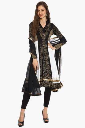 IRA SOLEIL Womens Printed Kurta And Dupatta Set (Buy Any Ira Soleil Product And Get A Charms Bracelet Free)