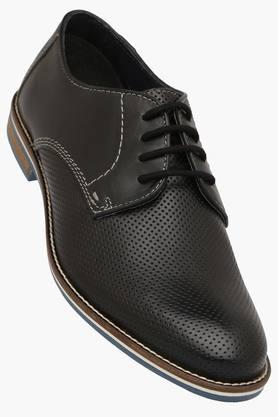 VENTURINI Mens Leather Lace Up Formal Derbys  ... - 202321013