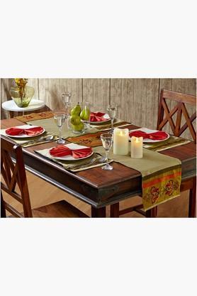Multi Colour Multi Colour Table Linen (Place Mat Napkin Sets (12 pcs)