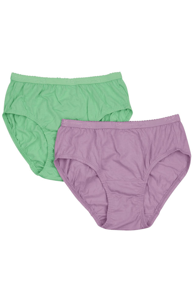 Women Cotton Hipster Brief(Pack Of 2)