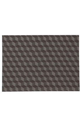 IVY Pvc Woven Cube Placemat - Set Of 2