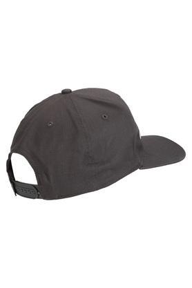 Mens Solid Applique Cap