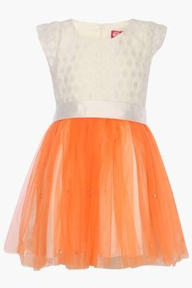 Girls Colour Block Dress