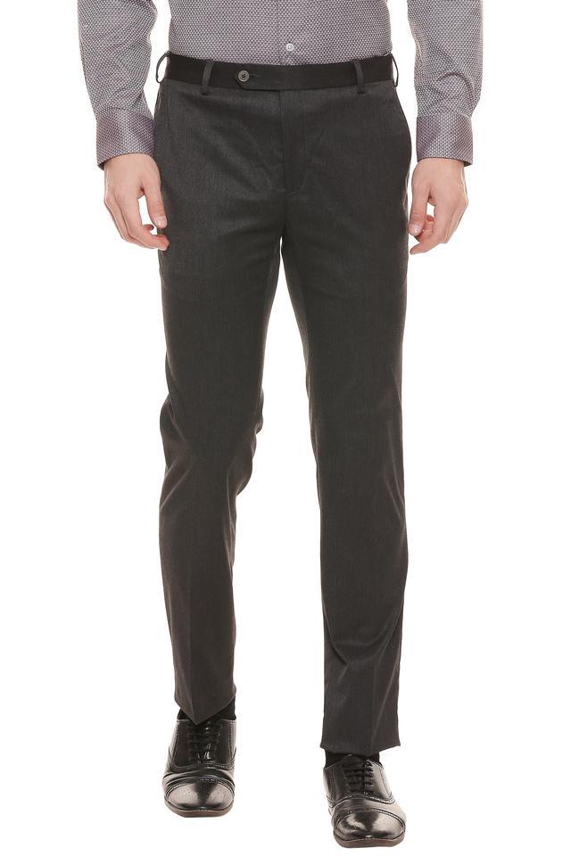 RAYMOND - Dark GreyFormal Trousers - Main