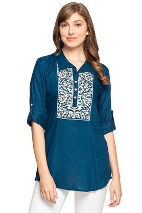 Womens Embroidered Tunic