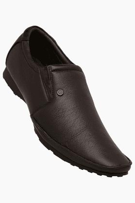 FRANCO LEONEMens Leather Slipon Smart Formal Shoe - 200144037