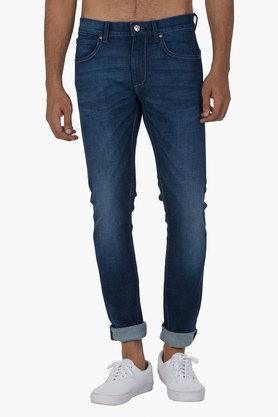 LEEMens 5 Pocket Skinny Fit Mild Wash Jeans