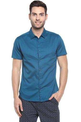 UNITED COLORS OF BENETTON -  TealCasual Shirts - Main