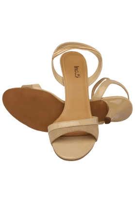 Womens Casual Slipon Heel Sandal