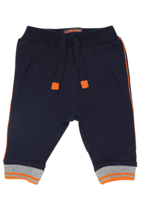 MOTHERCARE Boys Cotton Solid Track Pants