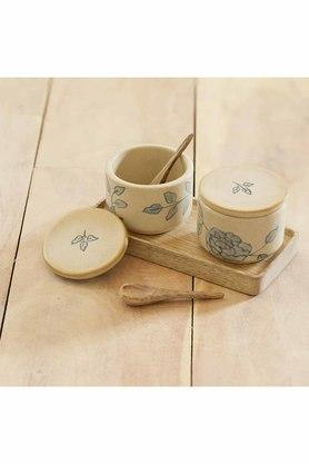 ELLEMENTRY - White Condiment Sets - 2
