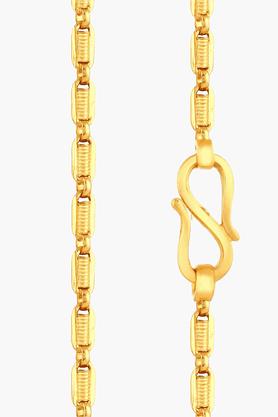 MALABAR GOLD AND DIAMONDSUnisex 22 KT Gold Chain