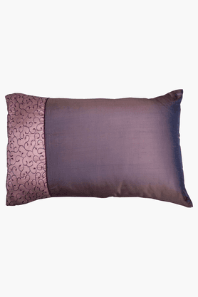 MASPAR Pretty Daisy Purple Pillow Cover - Set Of 2