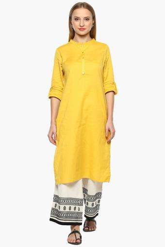 W -  Yellow Kurtas - Main