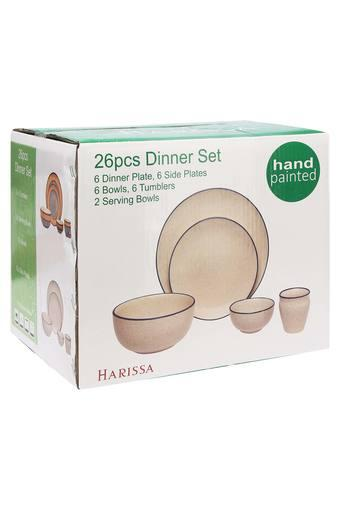 HARRISA -  Yellow Mix Dinner Sets - Main