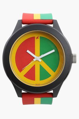 Fastrack Unisex Tees Multicolour Unisex Analogue Watch image