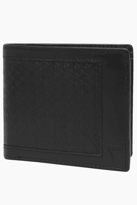 VAN HEUSEN Mens Leather 1 Fold Wallet - 200274320