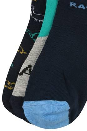 Boys Printed Knitted Pack of 3