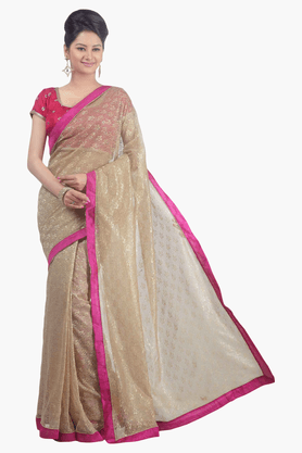 JASHN Womens Lace Saree