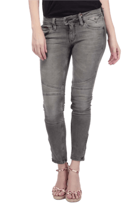 TOMMY HILFIGER Women Stretch Mid Rise Skinny Fit Jeans