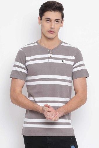 REALM -  KhakiT-Shirts & Polos - Main