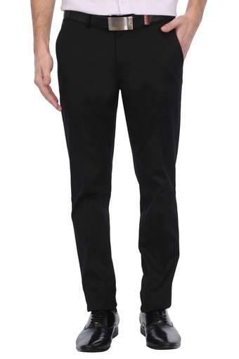 LOUIS PHILIPPE -  BlackFormal Trousers - Main
