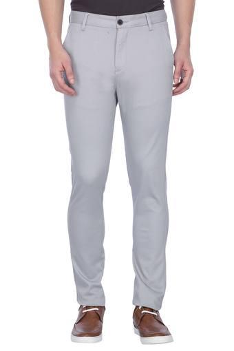STOP -  GreyFormal Trousers - Main