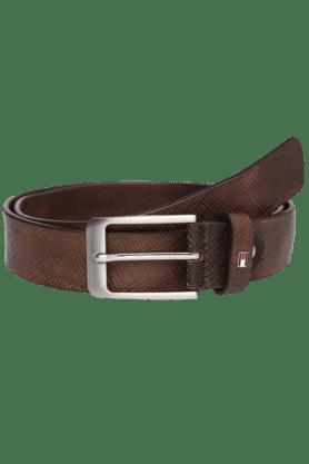 TOMMY HILFIGERMens Bergen Casual Leather Belt