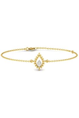 SPARKLESHis & Her Collection 92 Kt Diamond Bracelets In 925 Sterling Silver Diamond HHRK10927-92KT