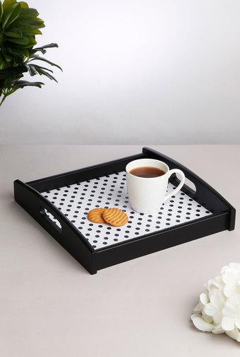 IVY -  Black & WhiteTrays & Platters - Main