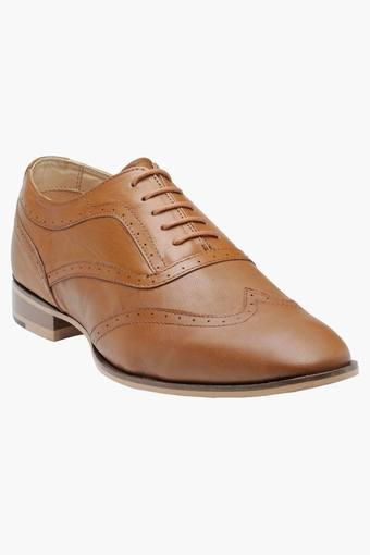 Mens Leather Lace Up Oxford Shoes
