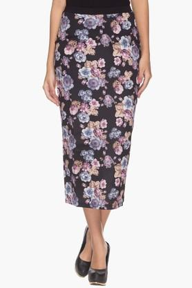 LIFE Womens Printed Pencil Skirt