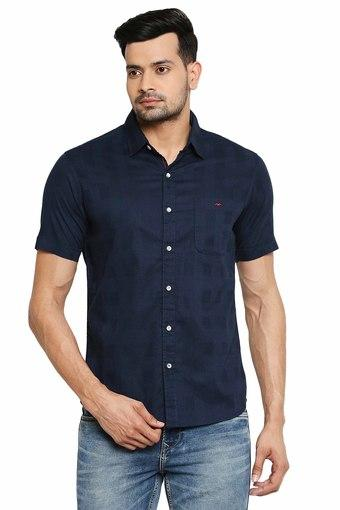 MUFTI -  NavyCasual Shirts - Main